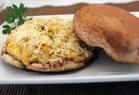 Crab-Stuffed Portobello Mushroom